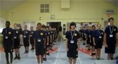 Photo of Jr. Police Academy Participants