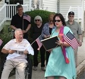 Councilwoman Kane honors WWII Veteran