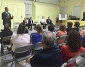 Mayor Cahn hosts Town Hall meeting