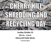 Shredding, Recycling Day Flier