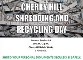Shredding and Recycling Day flier