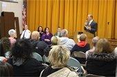 Mayor's Town Hall Meeting Sharp School