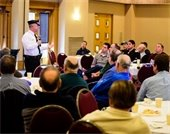 Chief Monaghan at Temple Emanuel