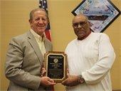Jim Peeler honored