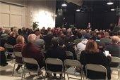 Barclay Town Hall meeting