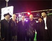 Mayor Cahn at Chabad Chanukah ceremony