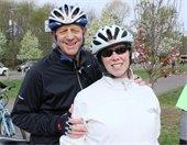 Mayor Cahn at Earth Festival Bike Ride