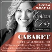 Colleen Daly Concert Flyer