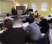 Mayor Cahn addressing Citizens Cabinet