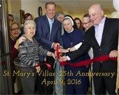 St. Mary's Villas 25th Anniversary Celebration