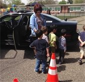 Cherry Hill Police visit Barclay ECC