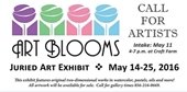 Art Blooms call for artisits