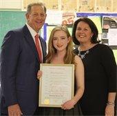 Mayor Cahn honors Madeline Bowne