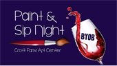 Paint & Sip night