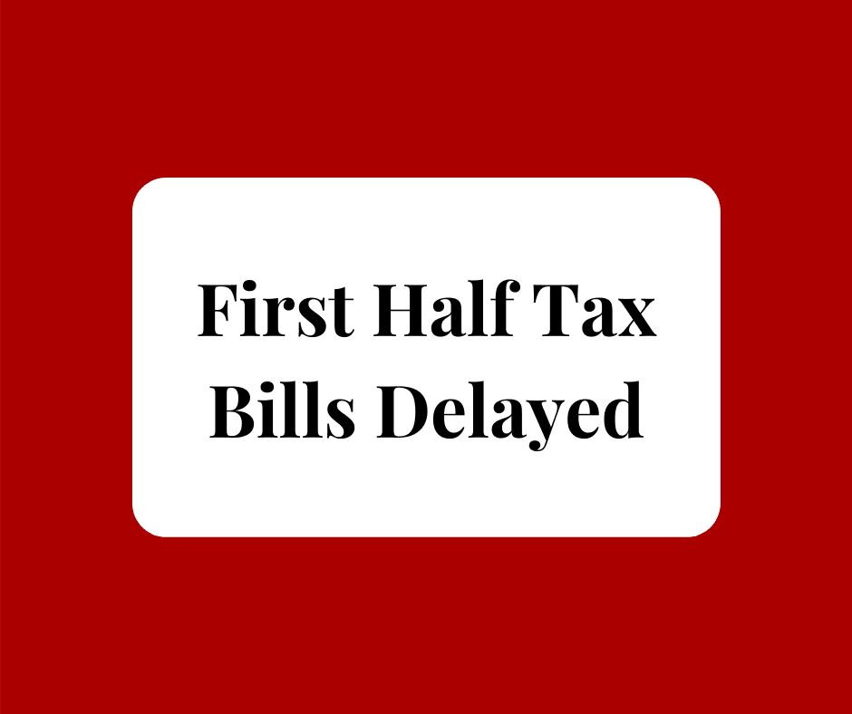 tax bill delayed
