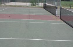 Tennis Court renovations