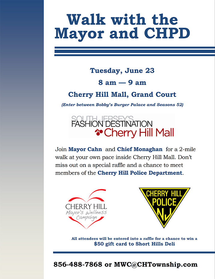 Walk with the Mayor and CHPD - June 23