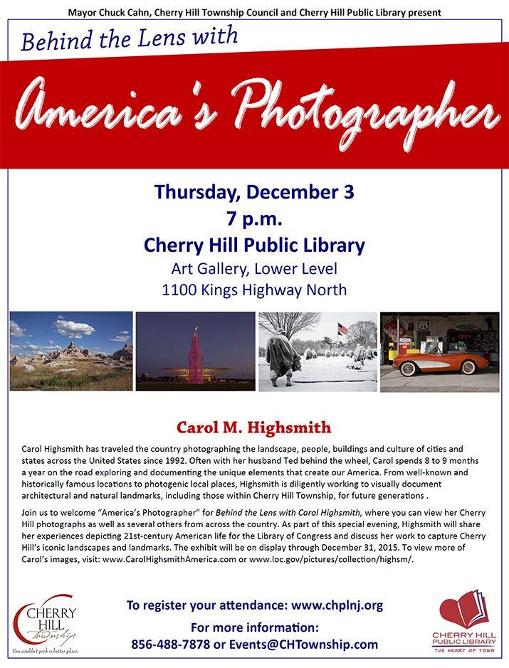 Carol M. Highsmith Evening - Dec 3
