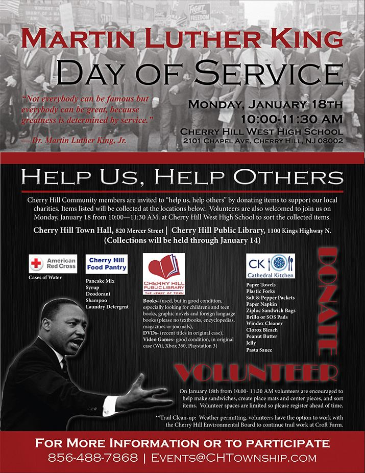 MLK Day of Service Event