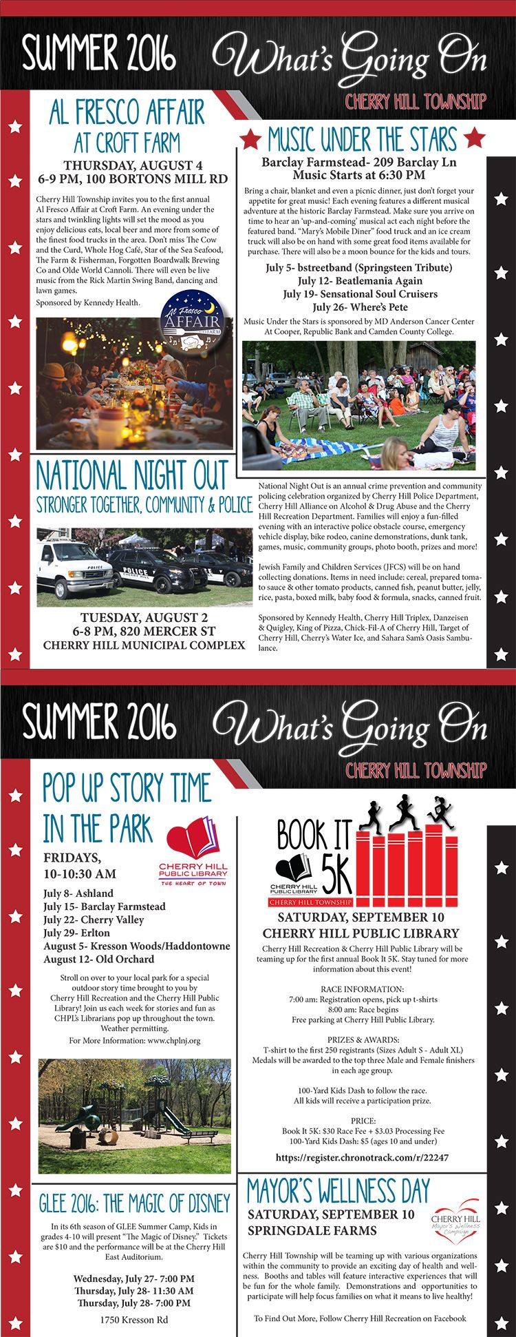 Summer newsletter email