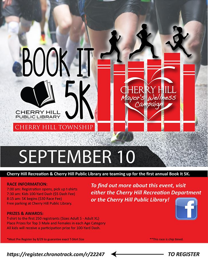 Book It 5K flyer