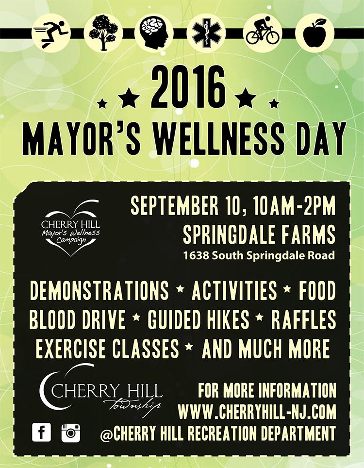 mayors wellness flyer email