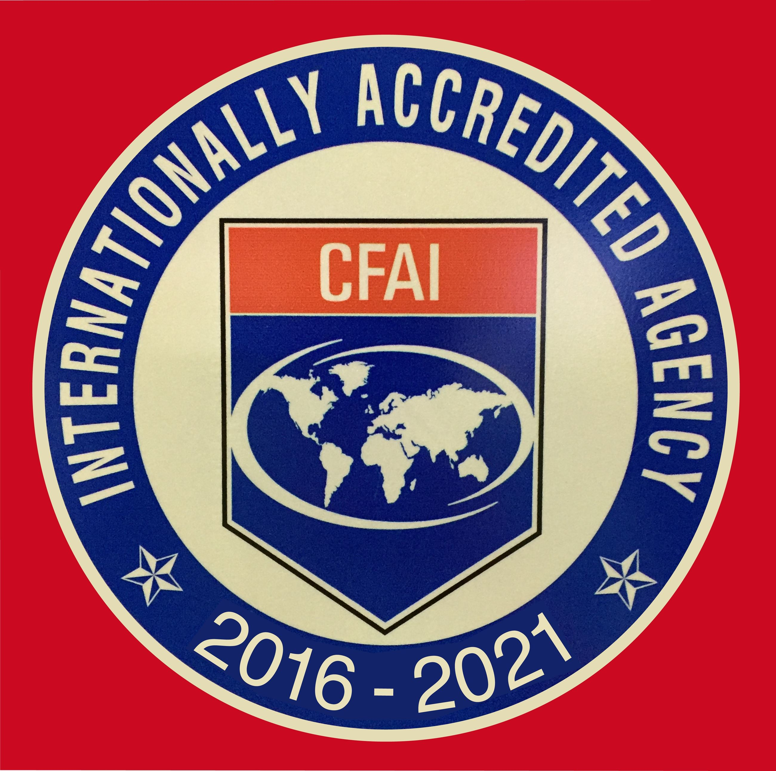 Internationally Accredited Agency 2016 to 2021