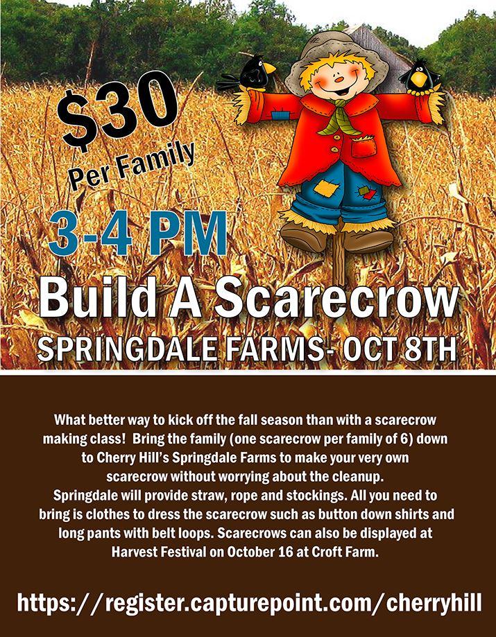 Build A Scarecrow - October 8
