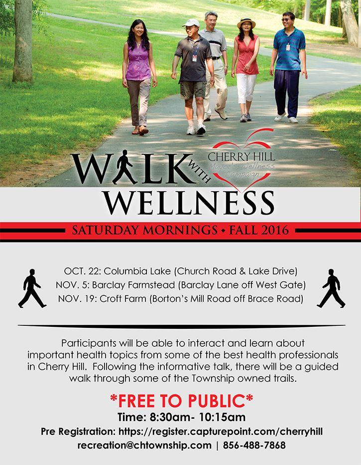 Walk with Wellness Flyer III