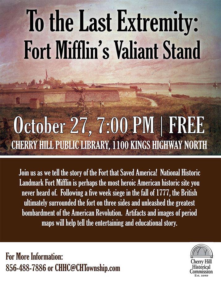 October 27 - Fort Mifflin