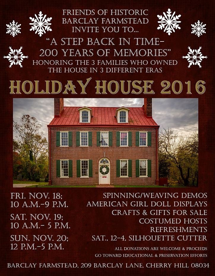 holiday house flyer-blast