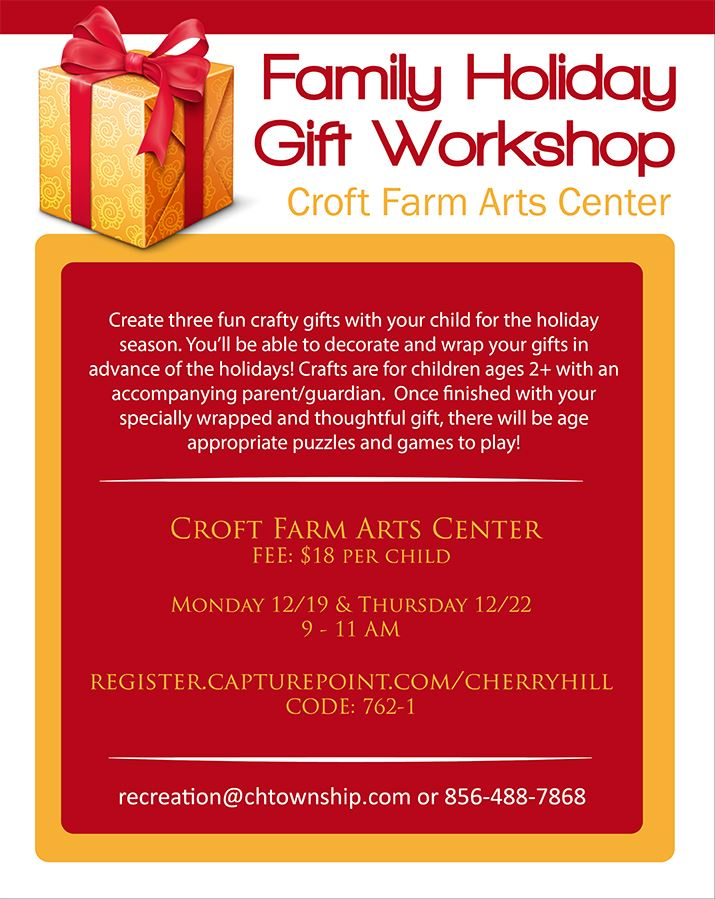 Family Holiday Gift Workshop