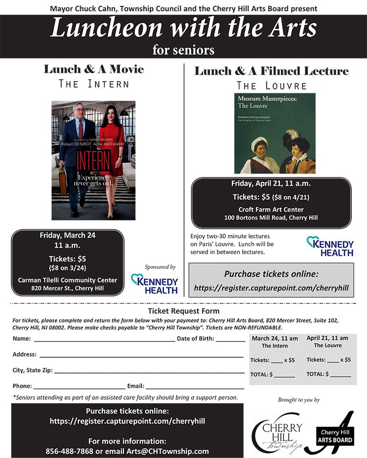 March April Luncheon flyer
