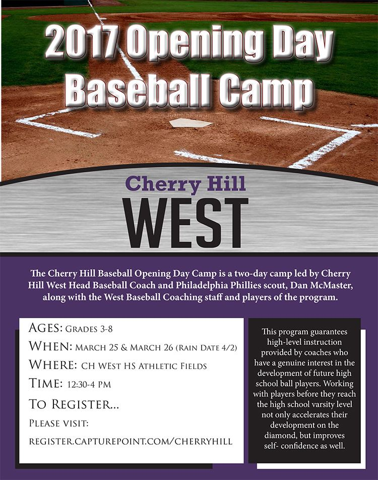 CH Baseball Camp Opening Day