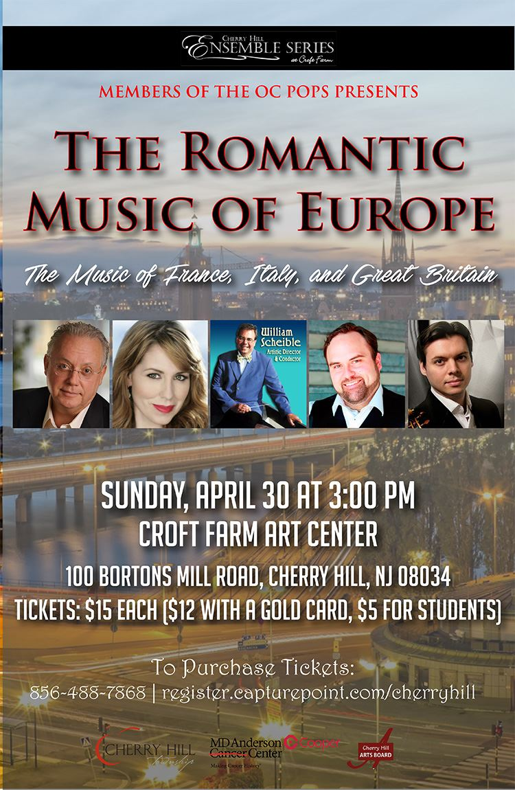 Romantic Music of Europe poster