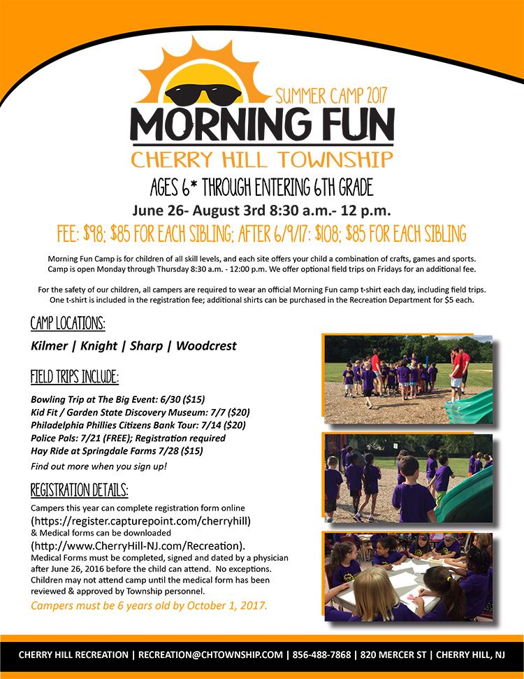 Morning Fun Flyer 2017