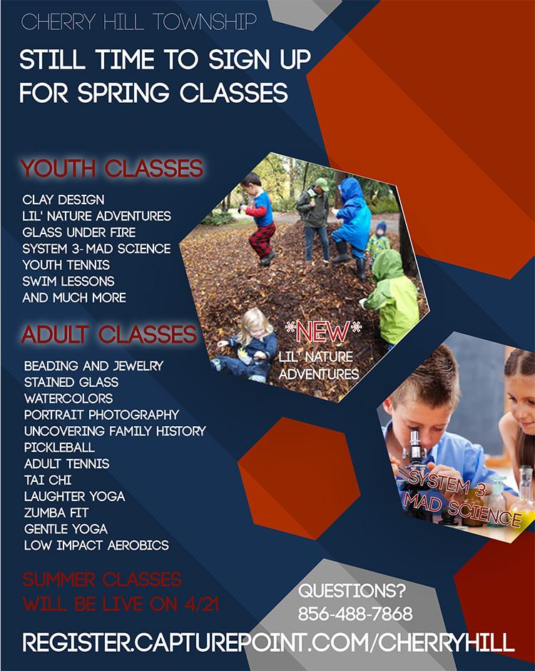 Spring Classes available