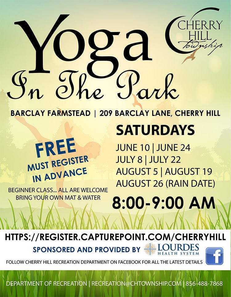 Flyer- yoga in the park