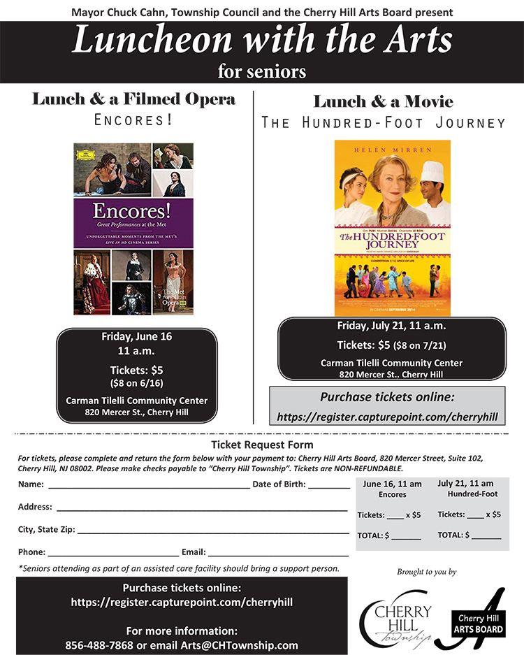 June July Luncheon flyer