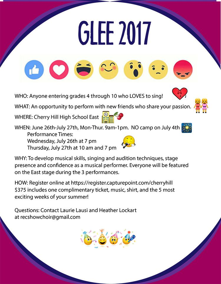 Glee Flyer use