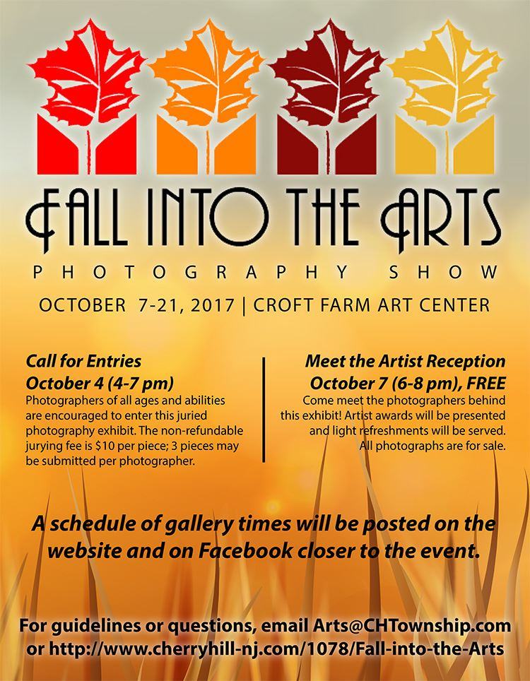 fall into the arts flyer