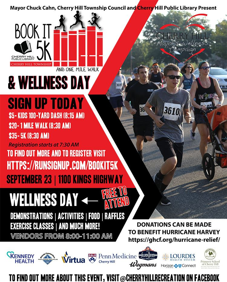 Book It and wellness Flyer