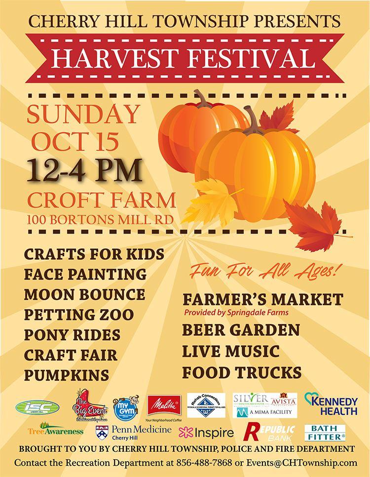 Harvest Festival flyer 2017