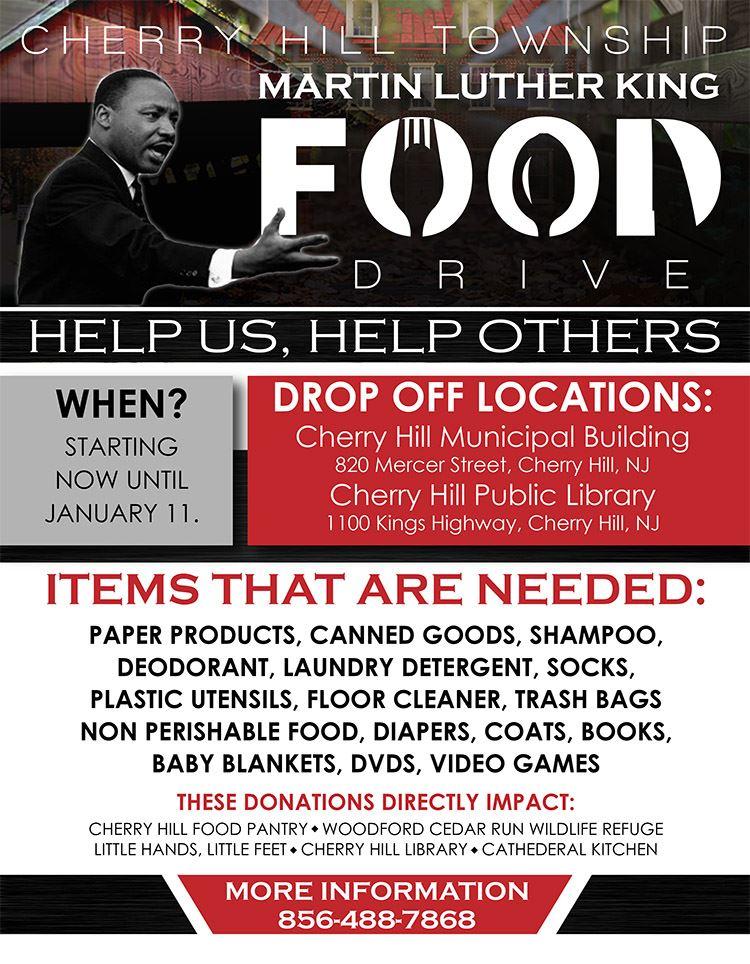 MLK flyer donate