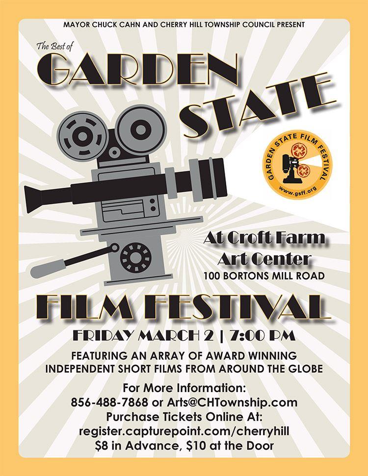 Garden State Film Flyer