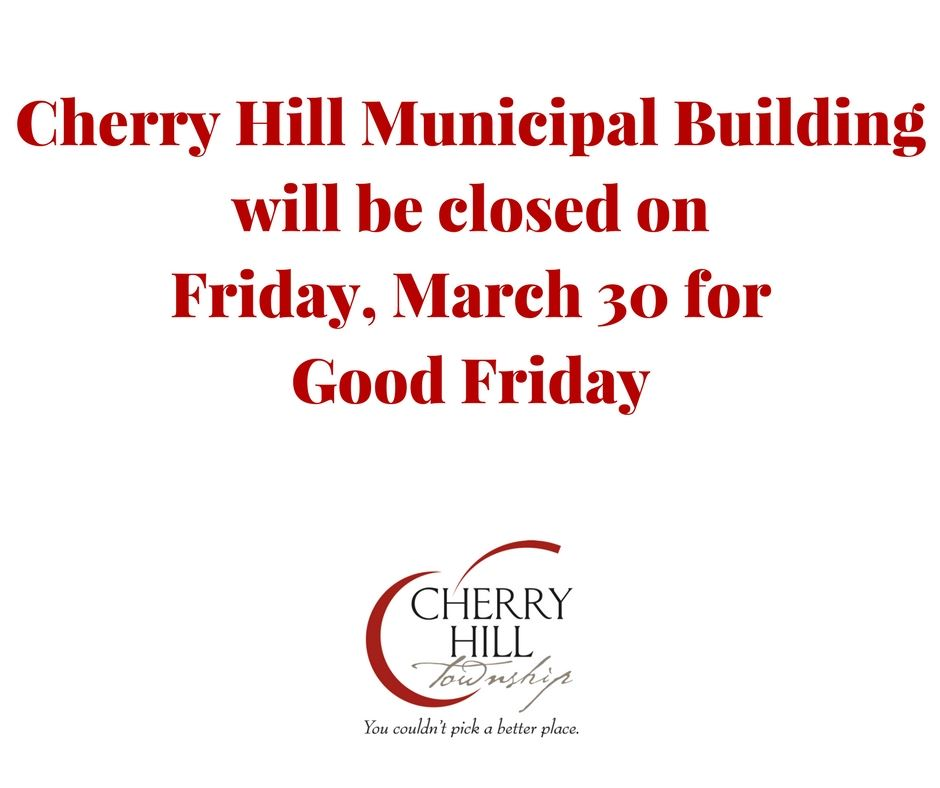 Good Friday - CHT Closed