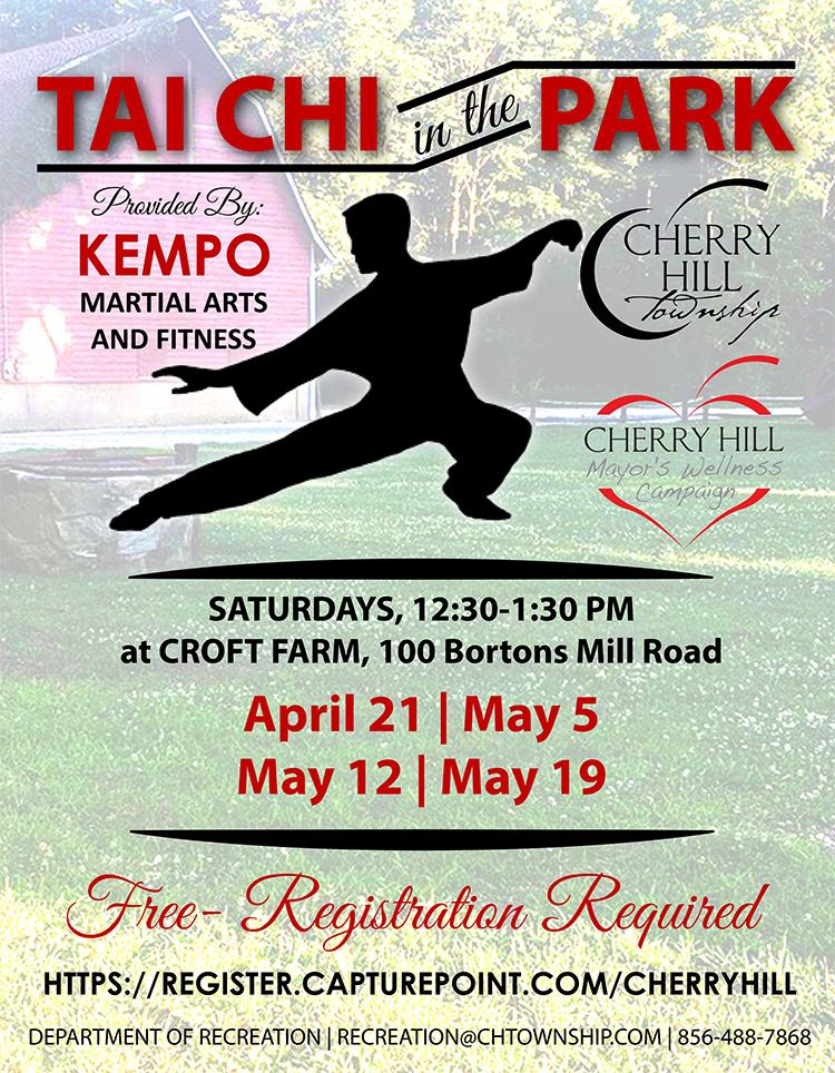 Flyer- Tai Chi in the park 2018