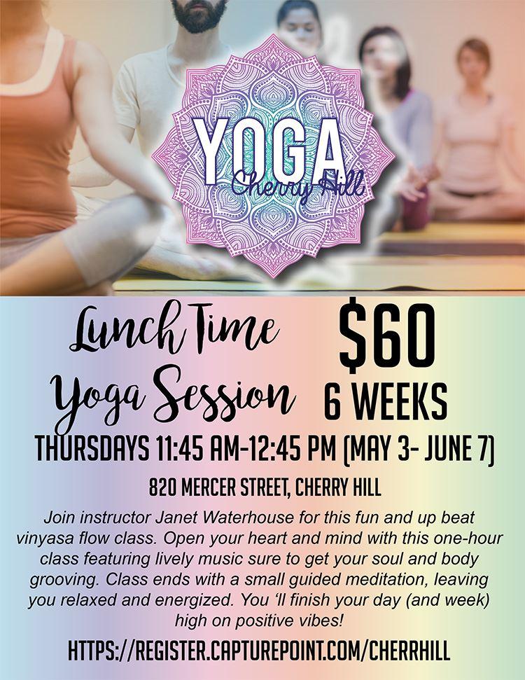 Cherry Hill Yoga flyer