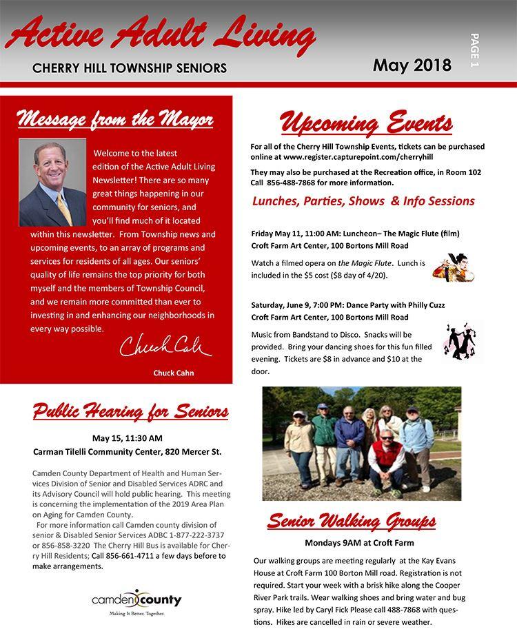 May 2018 Newsletter pg 1