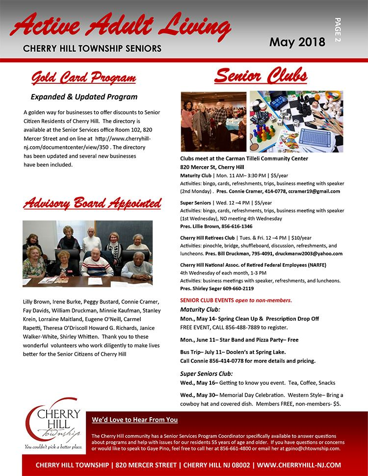 Cherry hill township nj may 2018 newsletter pg 2 reheart Gallery